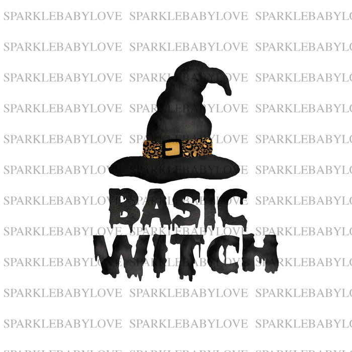 Basic Witch iron on, Halloween sublimation transfer, Halloween printed vinyl, Halloween iron on, sublimation transfer