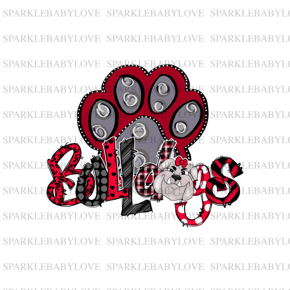 Bulldogs Ready to press DIY iron on, Sublimation transfer, Ready to Press, Iron on Ready,  Iron on Transfer