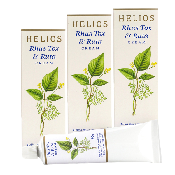 Rhus Tox & Ruta Cream Helios Creams 3 Pack