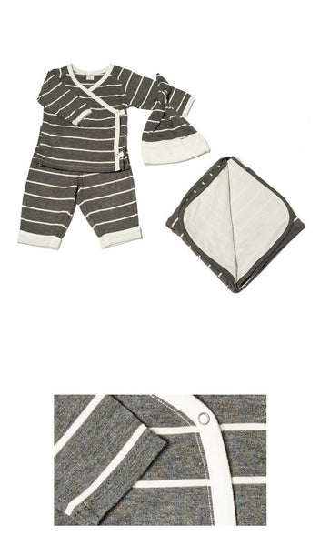 Baby's Take-Me-Home 4 Piece  - Charcoal
