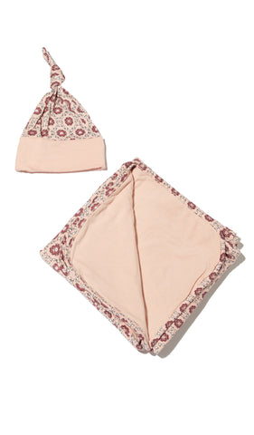 Swaddle 2-Piece Set - Pink Blush