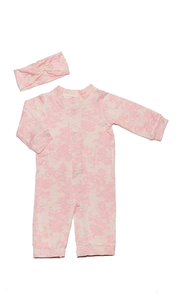 Convertible 2 Piece - Pink Chantilly