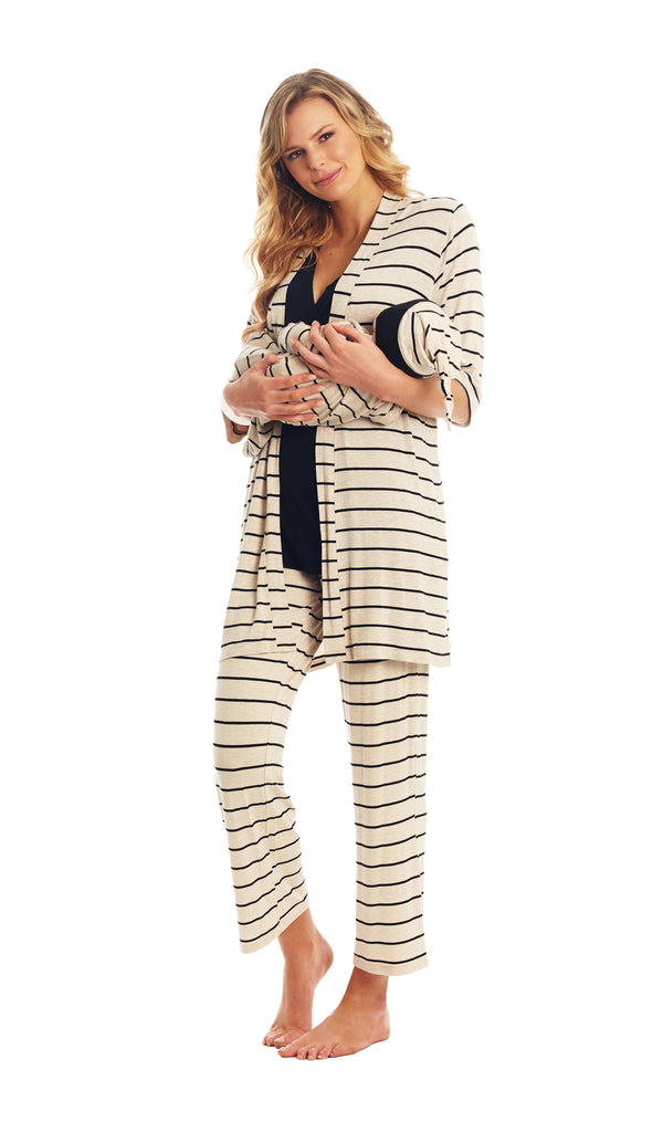 Analise 5-Piece Sand Stripe