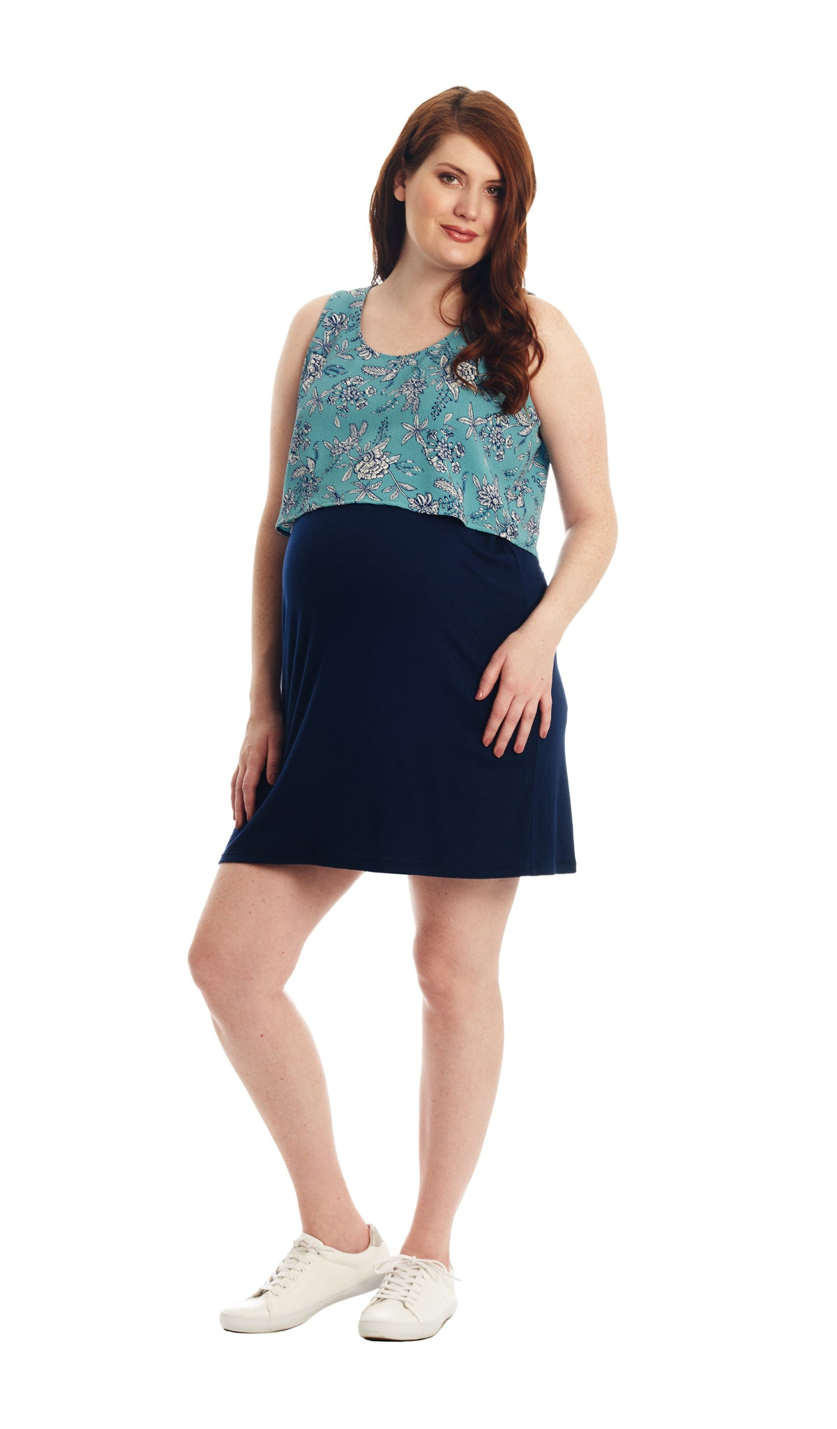 Mahina Blue Floral - Final Sale
