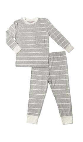 Emerson Kids 2 Piece Pant PJ  - Heather Grey