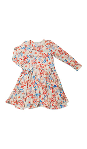 Kendyl Kids Twirly Dress - Posy