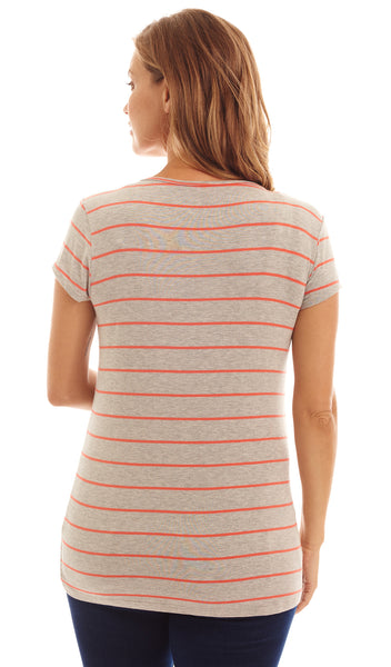 Jonelle Coral Stripe
