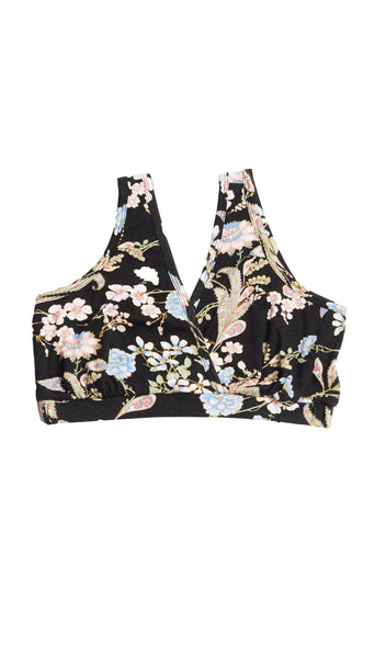 Dawn 4-Piece Black Floral