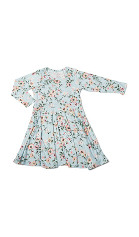 Kendyl Kids Twirly Dress - Cloud Blue