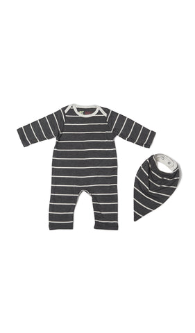Romper 2-Piece - Charcoal