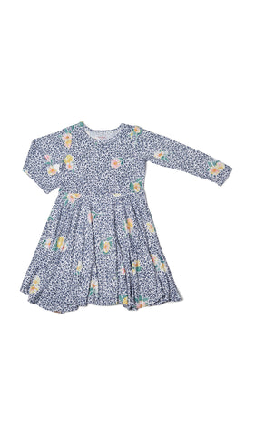 Kendyl Kids Twirly Dress - Jungle Floral