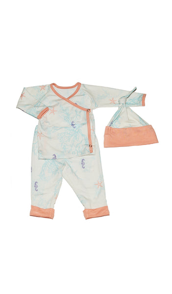 Baby's Take-Me-Home 3 Piece - Sea Horse