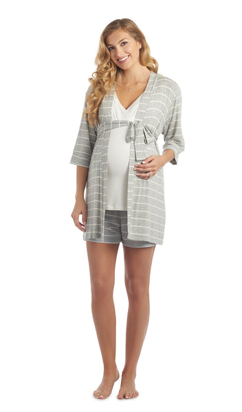 Adaline 3-Piece Heather Grey