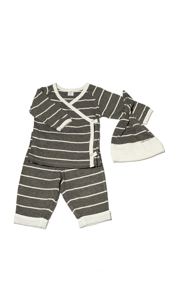 Baby's Take-Me-Home 3 Piece - Charcoal