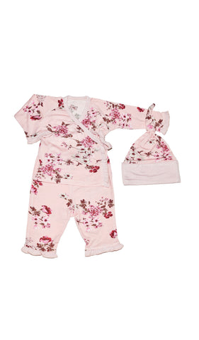 Baby's Ruffle Take-Me-Home 3 Piece  - Blossom