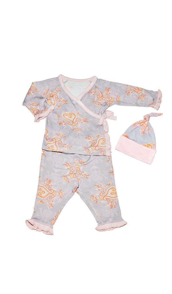 Baby's Ruffle Take-Me-Home 3 Piece  - Boho