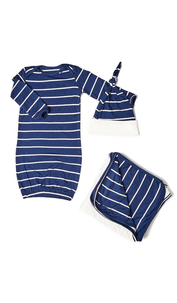 Baby's Welcome Home 3 Piece Set - Navy