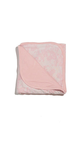 Swaddle Blanket  - Pink Chantilly