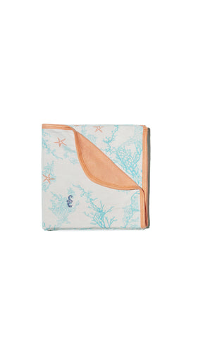 Swaddle Blanket - Sea Horse