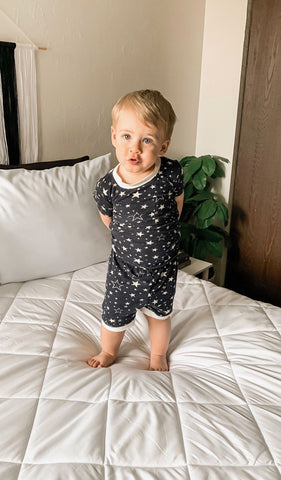 Aydenne Kids 2 Piece Short PJ  - Stars