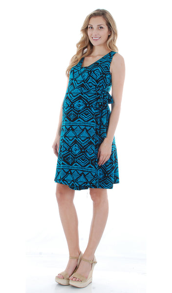 Tania Aztec Teal - Final Sale
