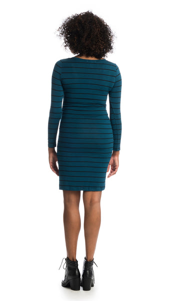 Hanh Teal Stripe - Final Sale