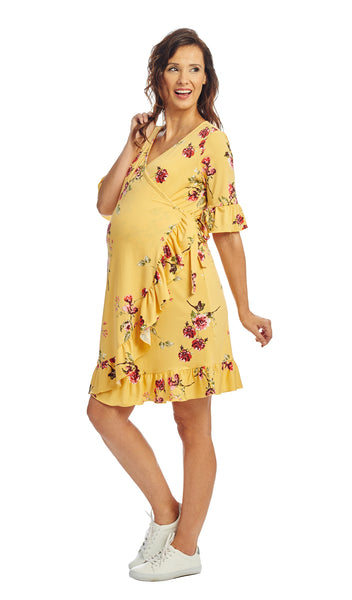 Leilani Yellow Floral - Final Sale