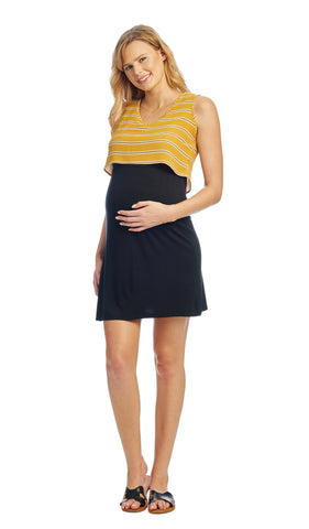 Mahina Mustard Stripe - Final Sale
