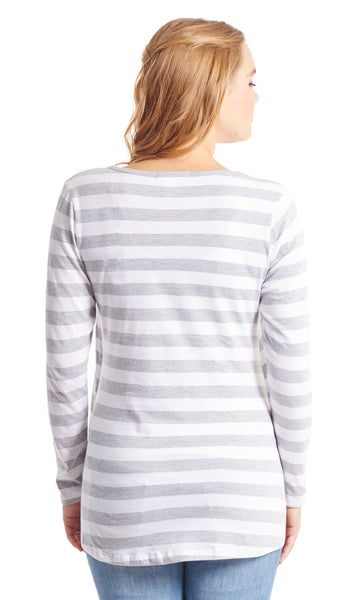 Payton Grey Stripe - Sale