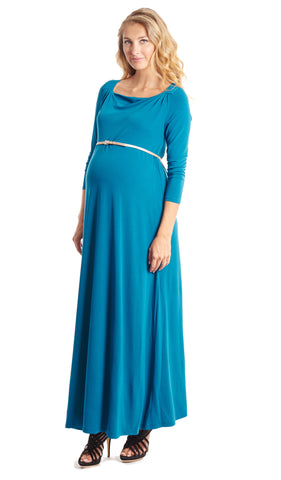Zelena Dress Cerulean - Final Sale