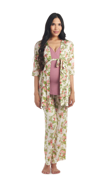 Analise 5-Piece Beige Floral