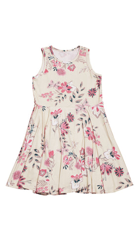 Lucia Kids Twirly Dress - Wild Flower