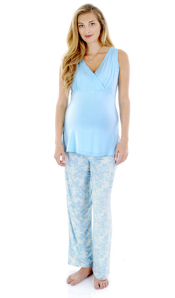Analise 3-Piece Blue Chantilly