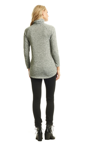 Teresa Sweater Heather Grey