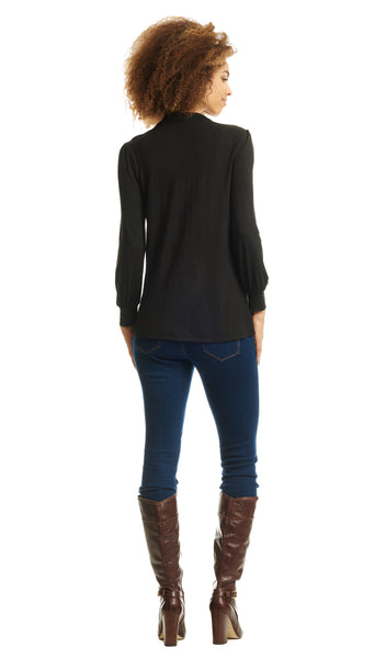 Sherry Top Black - Final Sale