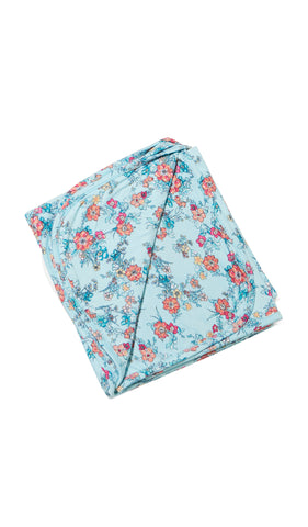 Swaddle Blanket Azure Mist - Final Sale