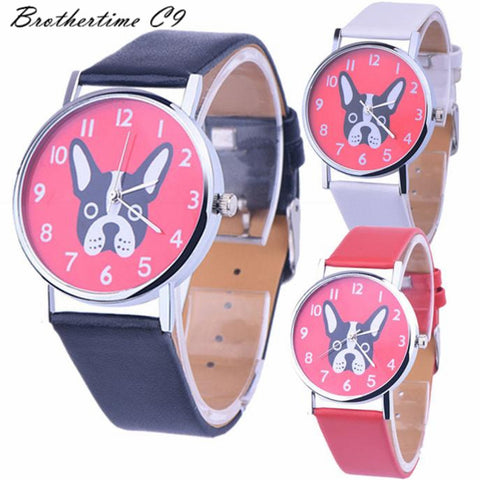 Casual Montre Dog Printed Watch