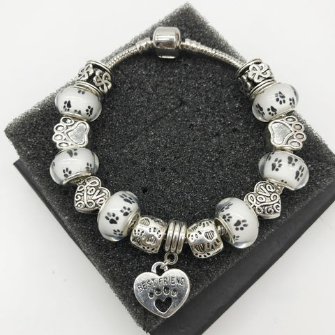 Limited Edition Love Dogs Best Friend Charm Bracelet