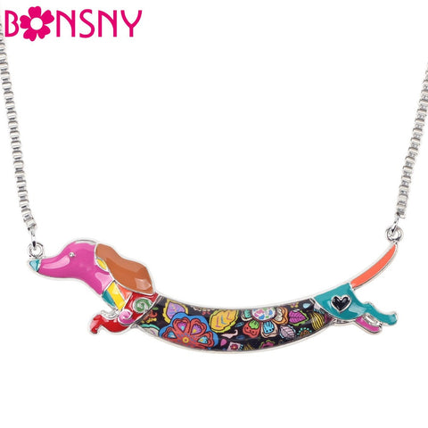 Dachshund Dog Necklace Pendant
