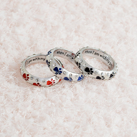 Limited Edition Dog Paw Ring