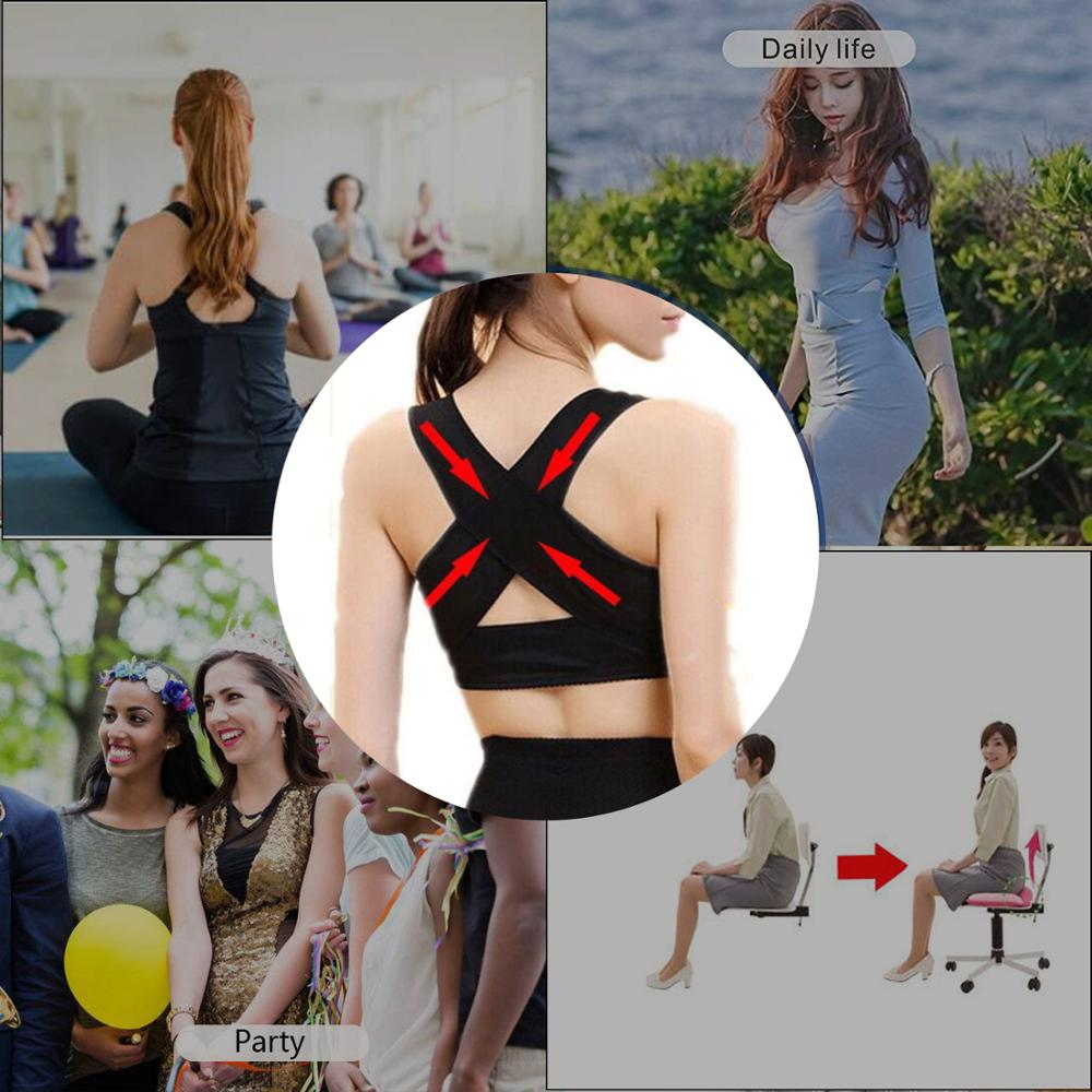 1PC Women Chest Posture Corrector Support Belt Body Shaper Corset Shoulder Brace for Health Care Drop Shipping S/M/L/XL/XXL - Stay Beautiful