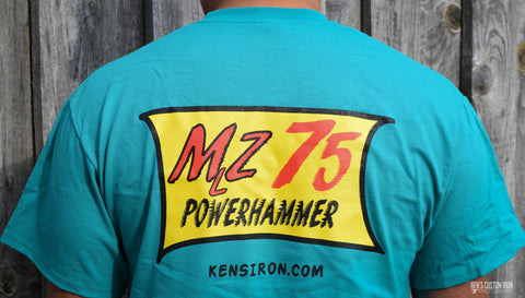 MZ75 Power Hammer T-Shirt, Apparel- Ken's Custom Iron Store, www.KensIron.com