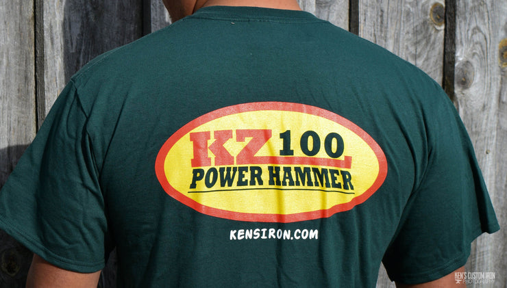 KZ100 Power Hammer T-Shirt, Apparel- Ken's Custom Iron Store, www.KensIron.com