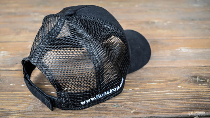 Anvil Mesh Back Hat, Apparel- Ken's Custom Iron Store, www.KensIron.com