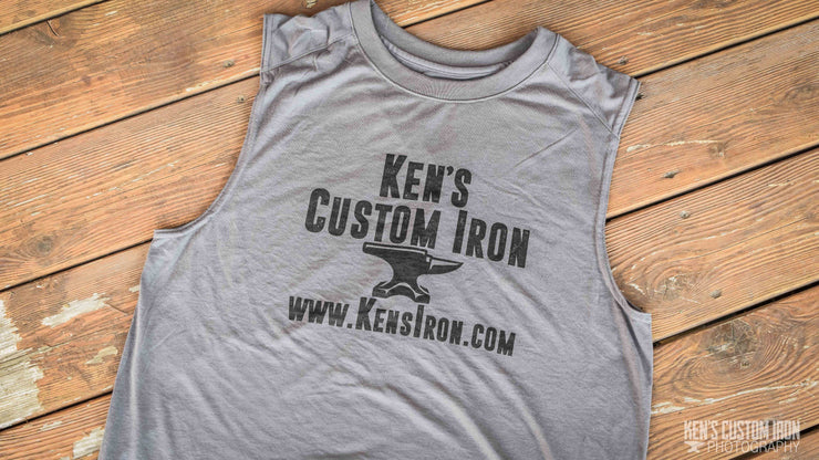 """Ken's Custom Iron"" Muscle T-Shirt, Apparel- Ken's Custom Iron Store, www.KensIron.com"