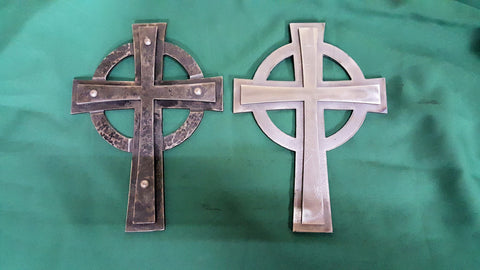 Blacksmithing - Celtic Cross Project