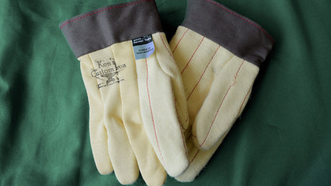 Kevlar Gloves, Blacksmithing- Ken's Custom Iron Store, www.KensIron.com
