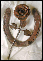 Blacksmithing - Rose Flower Project