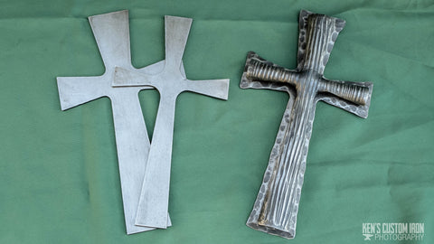 Blacksmithing - Rustic Cross Project