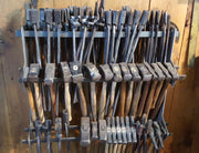 Blacksmithing - Tong And Hammer Rack